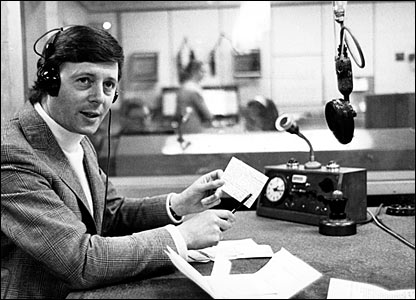 Michael Aspel in 1971