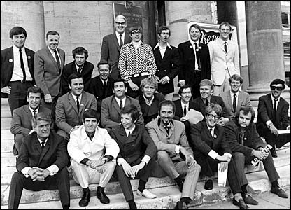 Radio 1's DJs in 1967