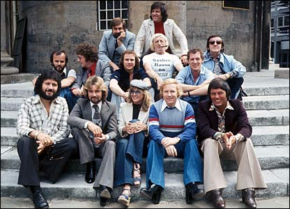 Radio 1's DJs in 1977