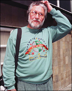 Dave Lee Travis in 1993