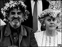 Ingmar Bergman and Ingrid von Rosen