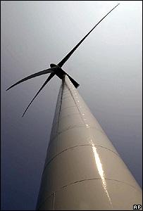 Wind turbine (Image: AP)