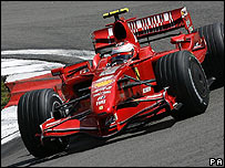 Monoplaza Ferrari de F1