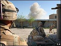 Royal Marines in Helmand