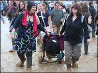 Mud at Womad