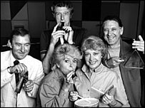 Ray Moore, John Dunn, Gloria Hunniford, Sheila Tracy and Robin Boyle in 1984