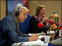 John Humphrys and Sarah Montague
