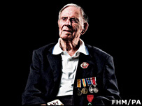 Harry Patch (Photo by FHM)
