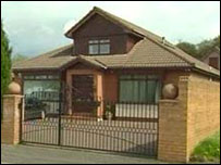 McGraw's home