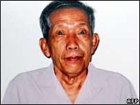 Duch, or Kang Kek Ieu, in prison in Phnom Penh on 30 July 2007