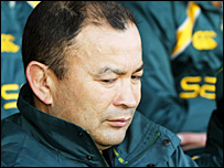 Former Australia coach Eddie Jones