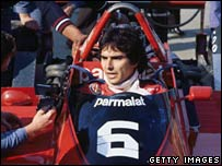 Nelson Piquet  in a file photo from 1979