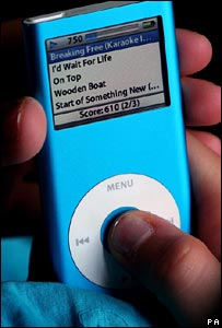 Music on an iPod