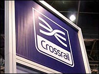 Crossrail platform sign