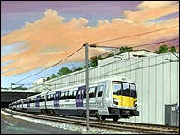 Crossrail - artist's impression