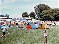 New Zealand Scout Jamboree camp site