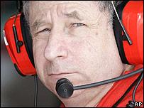 Ferrari F1 boss Jean Todt