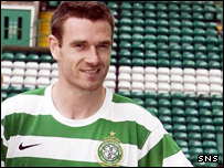 Celtic defender Stephen McManus