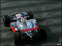 Monoplaza McLaren de F1