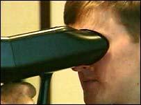 An ocular scanner