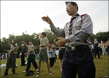 Scouts do tai chi