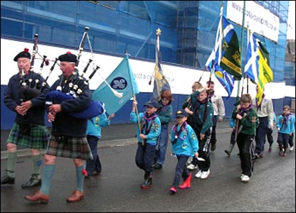 Carnoustie scouts, by Kenny Lee