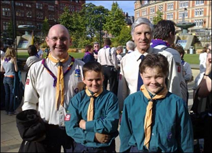 Sheffield scouts, by Chris Ackroyd