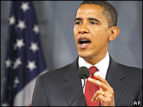 Barack Obama delivers foreign policy speech