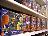 Fisher Price toys in a US store on 1 August 2007