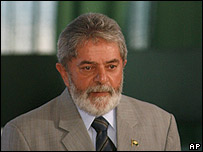 Brazil President Luiz Inacio Lula da Silva