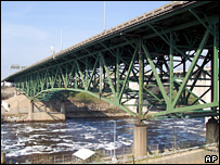 File photograph of the Minnesota bridge