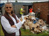 Tewkesbury resident Mary Robinson