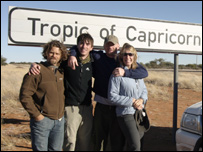 The team at the tropic of Capricorn sign