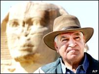 Zahi Hawass, secretario general del Consejo Superior de Antig�edades de Egipto.