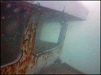 Scylla wreck off Whitsand Bay