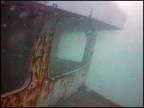 Scylla wreck off Whitsand Bay