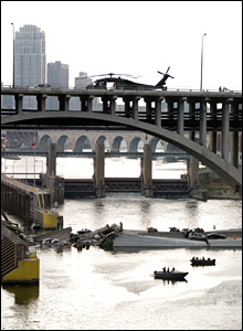 Bridge collapse, copyright Thomas Hafner