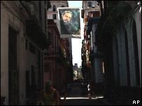 En las calles de la Habana Vieja