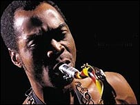 Fela Kuti singing [courtesy of Wrasse Records]
