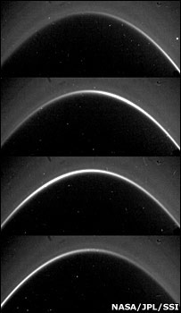 G ring (Image courtesy of Cassini Imaging Team and NASA/JPL/SSI)