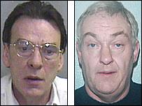Terence Conaghan (l) and John O'Flynn