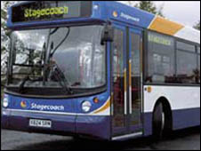 Stagecoach bus (generic)