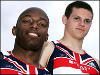 Marlon Devonish (left) and Craig Pickering