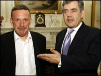 John Smeaton and Gordon Brown