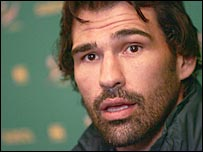 South Africa second row Victor Matfield