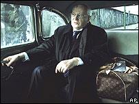 Former Soviet leader Mikhail Gorbachev in Vuitton ad