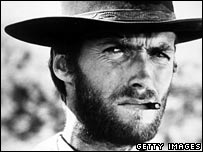 Clint Eastwood with cigarillo