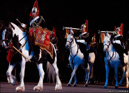 The Mounted Band of the Blues and Royals