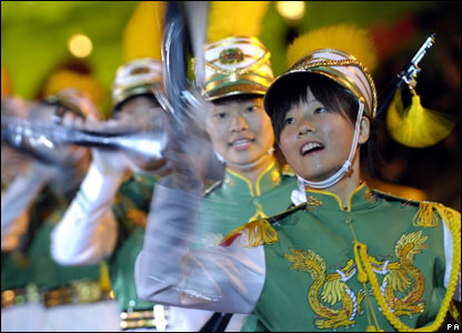 The Taipei First Girls' Senior High School Honour Guard and Drum Corps