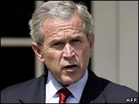 US President George W Bush (2 August 2007)